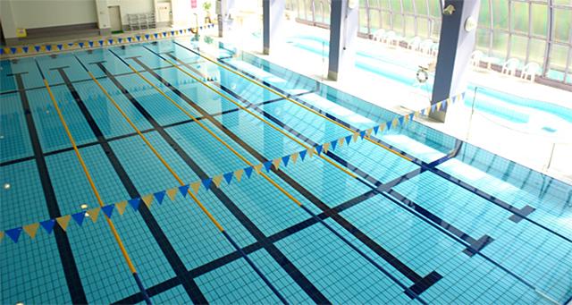 スポーツセンターのプール