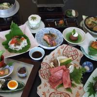 飛騨牛と鮎の初夏の贅沢三昧プランの料理