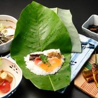 朴葉寿司セット